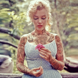 tatuando el pasado 6 marilyn monroe