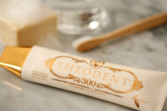 Theodent tooth paste
