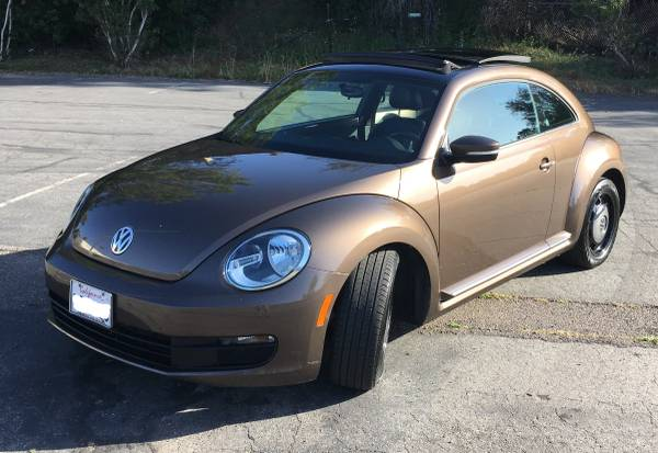 2013 Volkswagen Beetle Toffee Brown Metalic