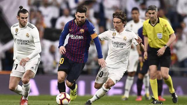 معلق وبث مباشر مباراة برشلونة وريال مدريد اليوم 01-03-2020 الدوري الإسباني