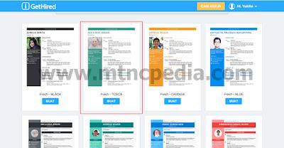 Cara Buat CV Online Gratis 8