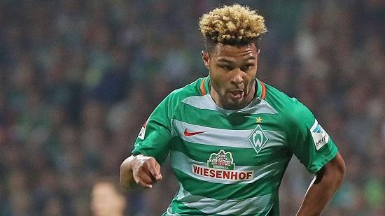 Serge Gnabry đang chơi rất tốt trong đội hình Bremen
