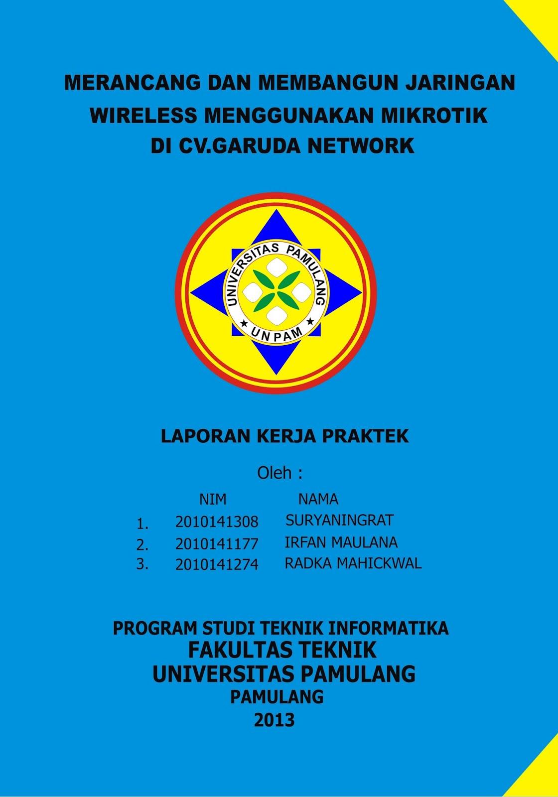Contoh Cover Makalah Universitas Islam Riau Any Formats