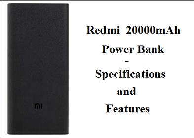 Redmi  20000mAh Li-Polymer Power Bank 2i (Sandstone Black) with 18W Fast Charging