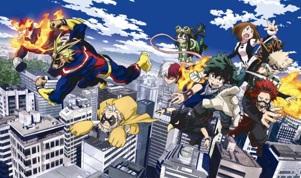 Bohaterowie My Hero Academia gotowi na film aktorski