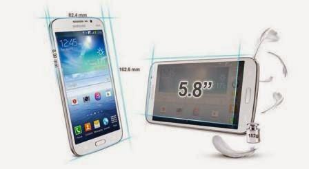 Harga Samsung Galaxy Mega 5.8 baru bekas, Spesifikasi Samsung Galaxy Mega 5.8