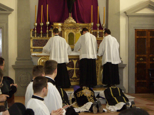 Mass of the Presanctified