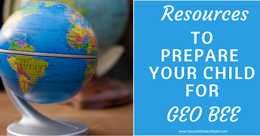 Resources to Prepare for the Geo Bee