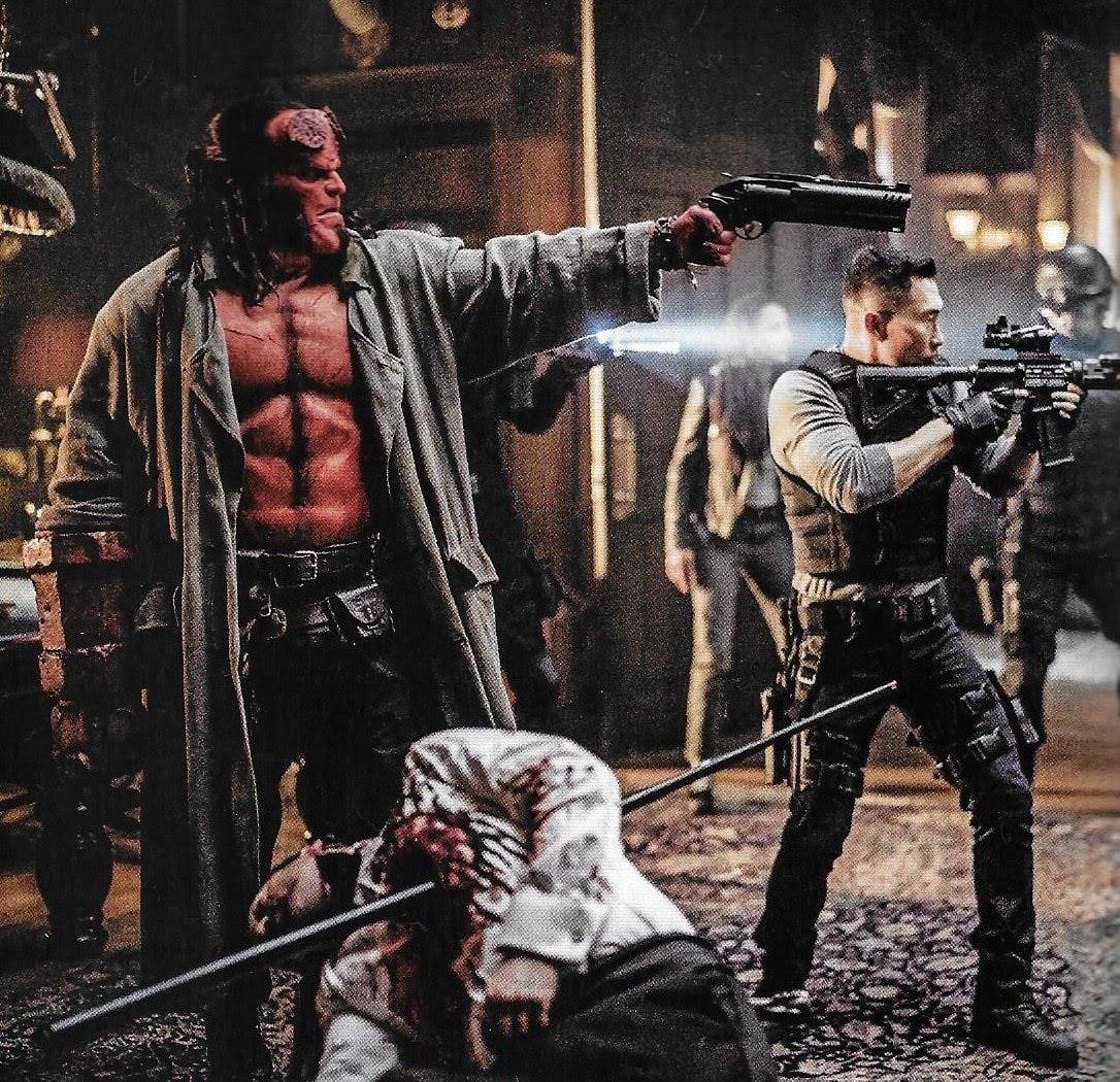 Hellboy : 赤い悪魔のアンチ・ヒーローが帰って来る「ヘルボーイ」の新しい写真 ! !