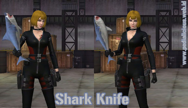 Preview Senjata Shark Knife Point Blank Zepetto Indonesia