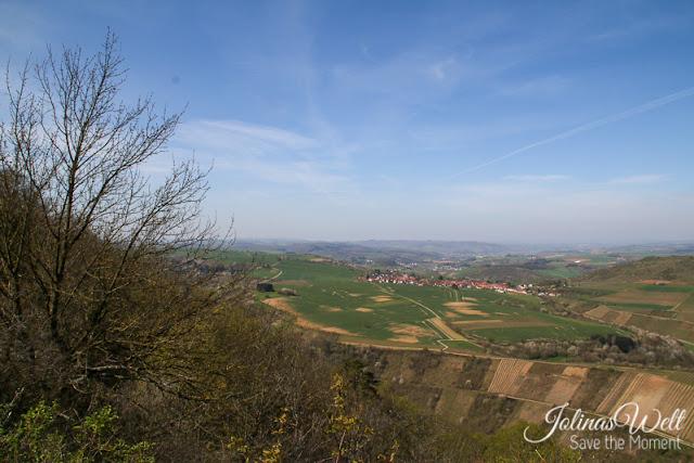 Aussicht über Naheland, Hunsrück, Soonwald bis Rheingau vom Lemberg aus