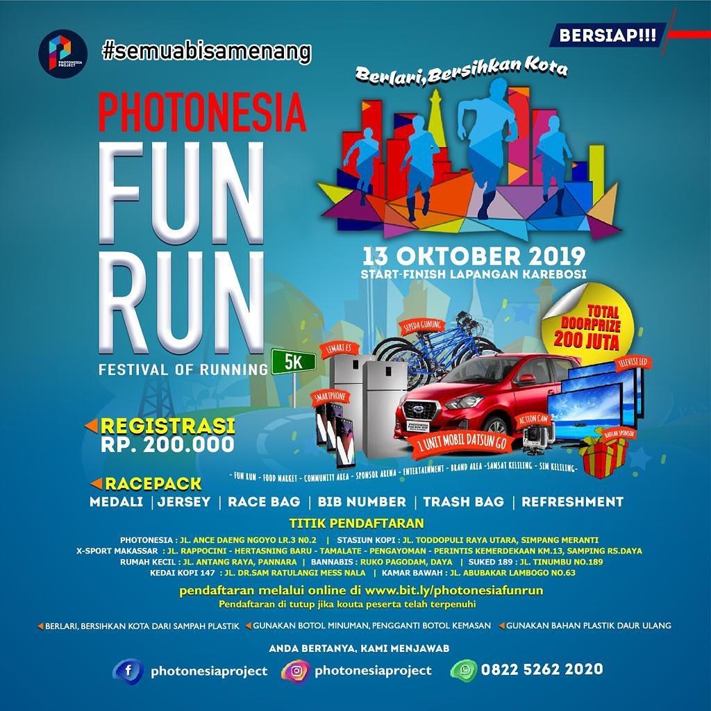 Photonesia Fun Run • 2019