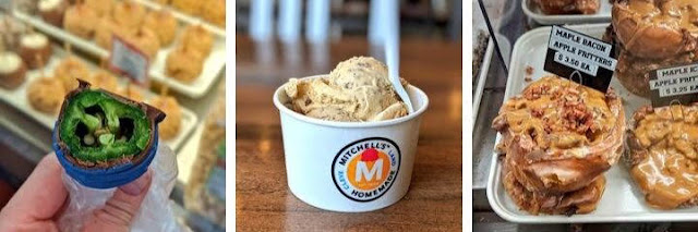 Fun things to do on the West Side of Cleveland: Visit West Side Market and Mitchell's Ice Cream