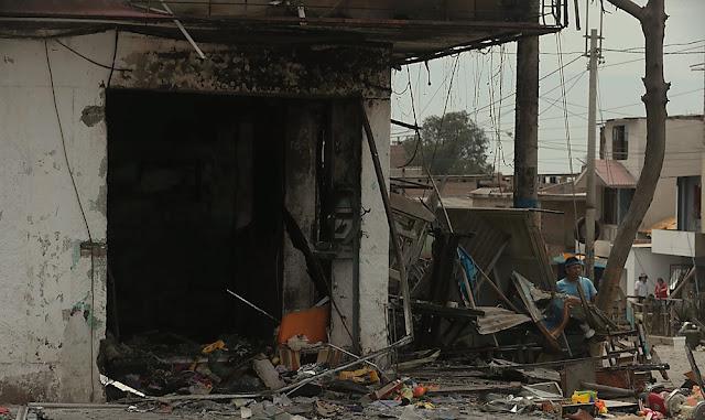 Villa El Salvador : otorgarán bonos para mejorar viviendas a damnificados por incendio
