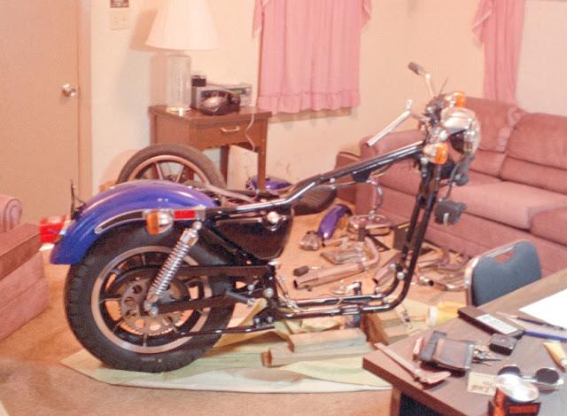 Robert Horn Harley Davidson Sportster 883