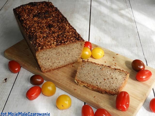 Żytni chleb na zakwasie ze złotym lnem - CZYTAJ DALEJ