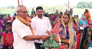 जरूरतमन्दों की सेवा के साथ मनी कलावती देवी की 8वीं पुण्यतिथि   #NayaSaberaNetwork