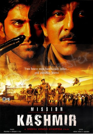 Poster Of Hindi Movie Mission Kashmir 2000 Full HD Movie Free Download 720P Watch Online