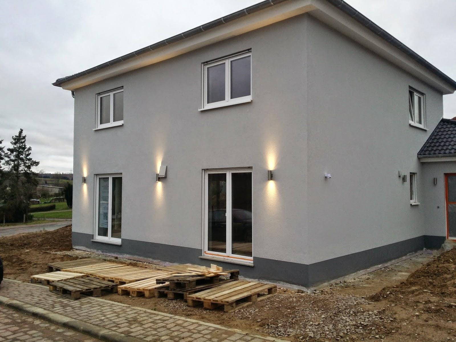 baublog wir bauen in neesbach au enbeleuchtung. Black Bedroom Furniture Sets. Home Design Ideas