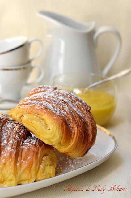 Hiperica di lady boheme ricetta croissant sfogliati di for Ricette cucina facili