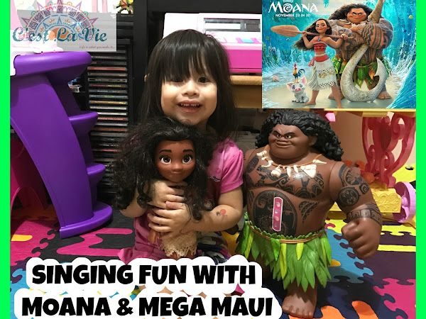 Singing Fun With Moana & Mega Maui