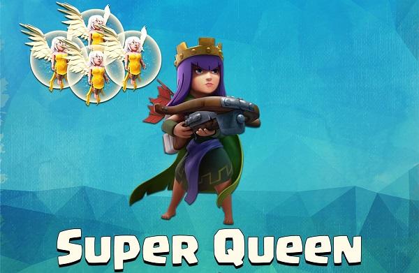Taktik Jitu Menyerang dengan Archer Queen dan Healer COC