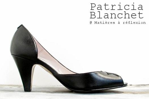 Patricia Blanchet escarpins noir