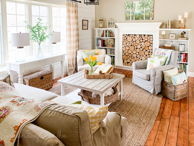 Cozy and Colorful Country Cottage Home Tour