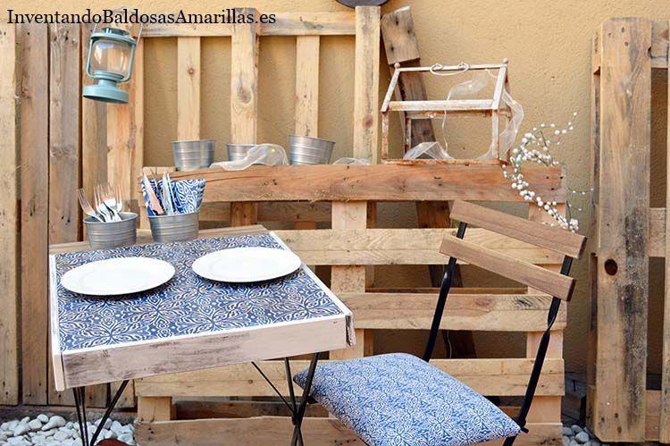 silla de terraza tapizada
