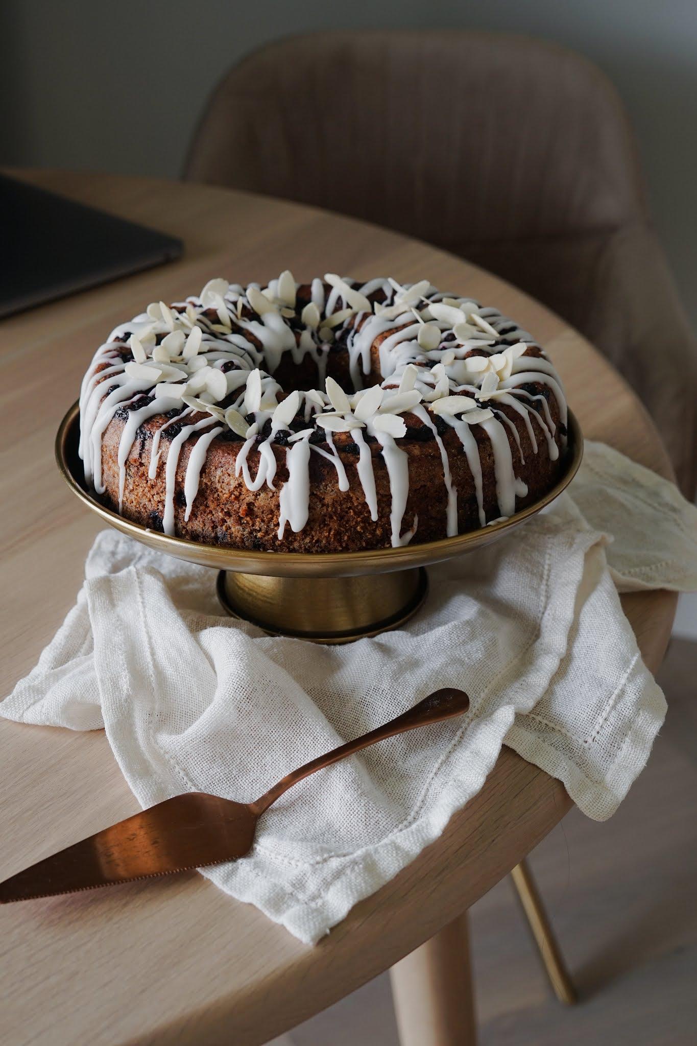 Ciasto cytrynowo jagodowe Ottolenghiego