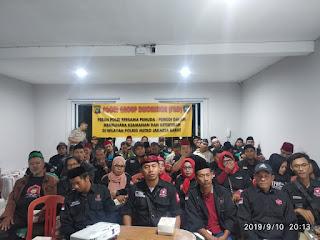 Binlu Kamtibmas Kepada Ormas Bang Japar Oleh Sat Binmas Polres Metro Jakarta Barat