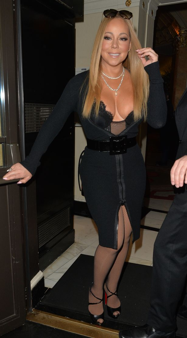 Mariah-Carey-Seen-At-The-Dorchester-Hotel-In-London
