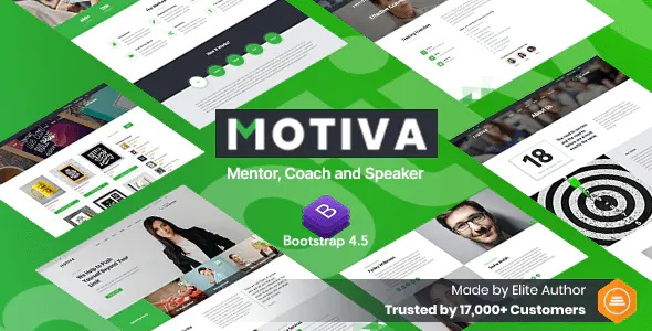 Mentor, Coach and Speaker Website Template