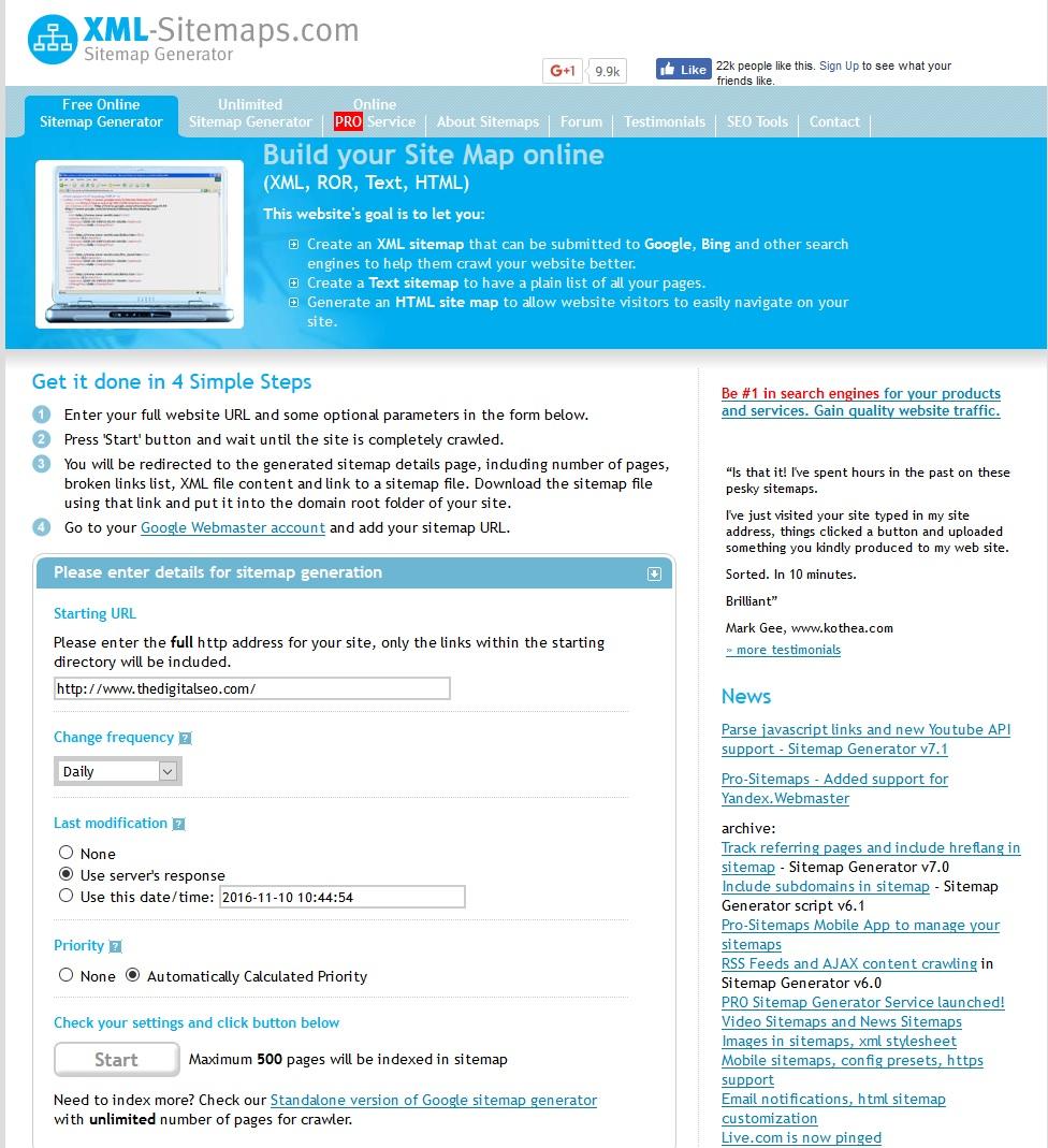 Google Xml Sitemap: SEO Expert & Consultant In India