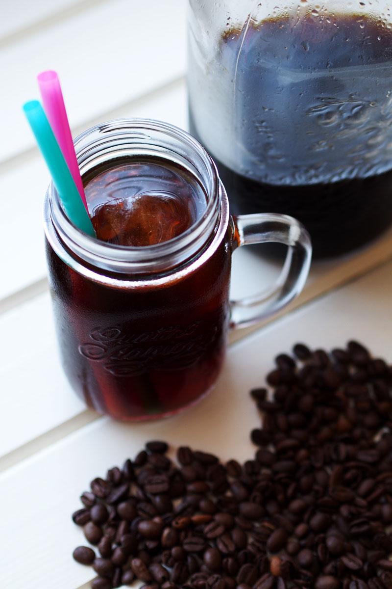 kawa parzona na zimno