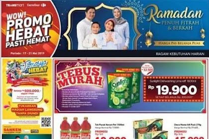 Katalog Promo Carrefour Weekend JSM 17 - 19 Mei 2019