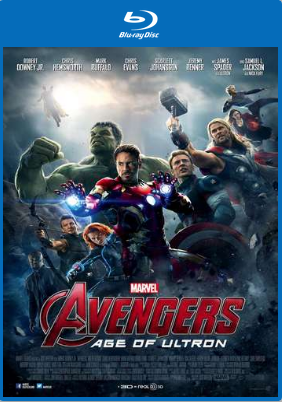 Avengers: Age of Ultron 2015 Hindi Dual Audio 600MB BRRip 720p