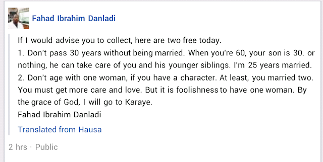 """""""It's foolishness for a man to have one woman"""" - US-based Nigerian man advises men to marry more wives"""