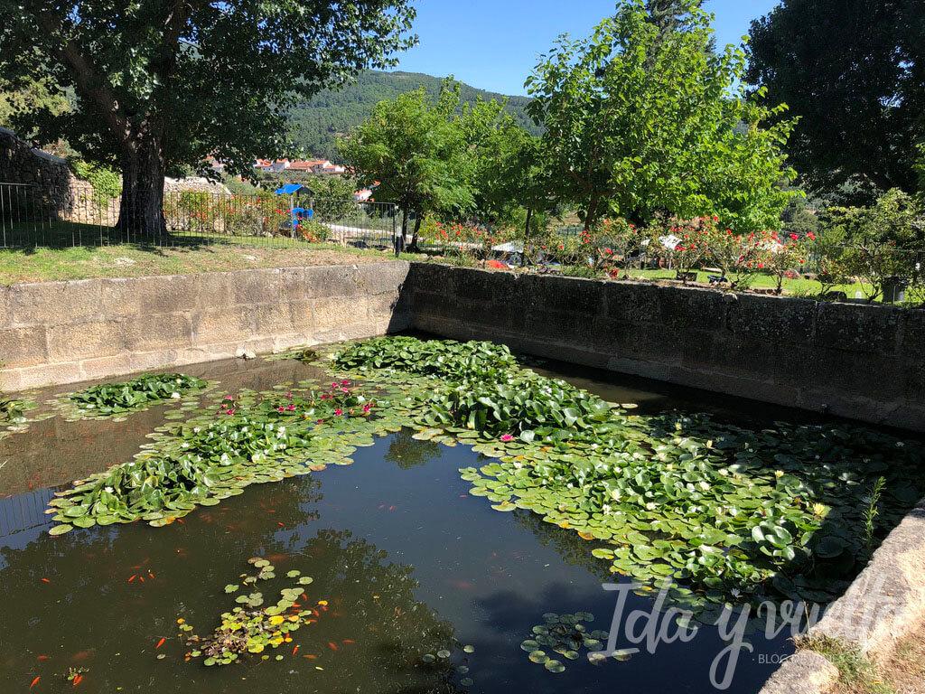 Hospedería Sierra de Gata jardín