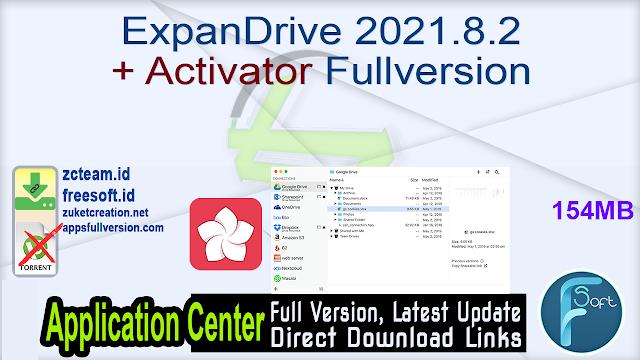 ExpanDrive 2021.8.2 + Activator Fullversion
