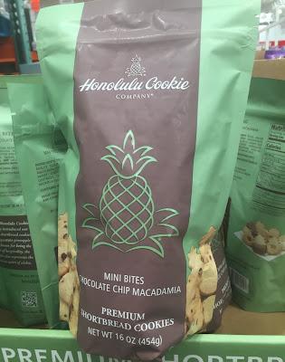 Enjoy a taste of Hawaii with Honolulu Cookie Company chocolate chip macadamia shortbread cookies
