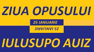 25 ianuarie: Ziua Opusului