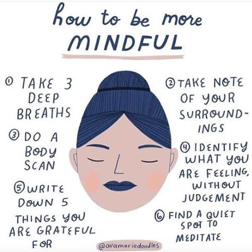 20 Powerful Mindfulness Quotes to Stay Present & Productive. Positive vibes + Wellness & Wellbeing via thenaturalside.com | how to be more mindful | #mindfulness #wellness #quotes #happy