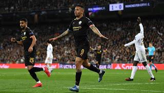 أهداف مانشستر سيتي في دوري أبطال أوروبا موسم 2019-2020