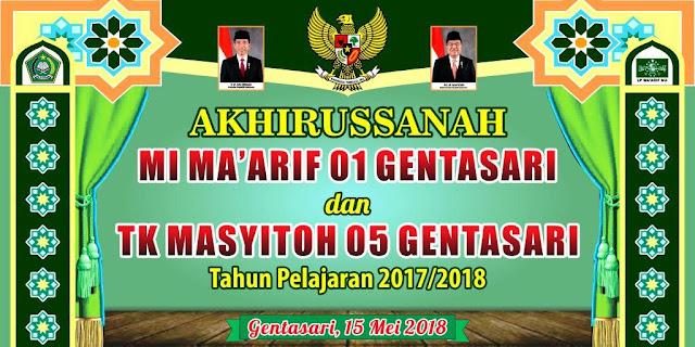 desain banner ppdb sekolah cdr