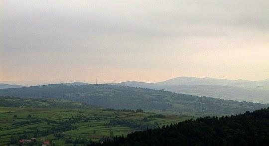 Góry Iwelskie - Góra Franków (534 m n.p.m.).