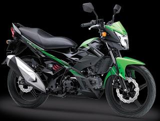 Gambar harga motor sport Kawasaki athlete pro