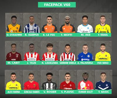 PES 2017 Facepack v60 by FR Facemaker