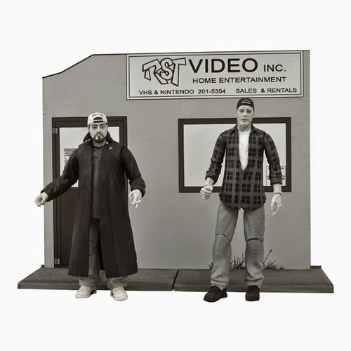 Clerks 20th Anniversary Diamond Select Action Figures Series 2 - Randal Graves & Silent Bob