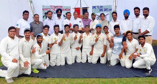 Zone – 3 Cricket Tournament concluded with the victory of Innocent Hearts School